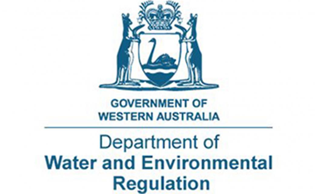 Department of Water and Environmenta Regulation Logo